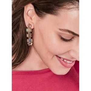 Stella & Dot Hatley Baguette Earrings